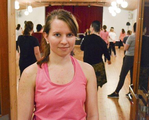 HEKTA PÅ DANS: Silje Malen kunne bruke studiefri til å danse hjemme i Vadsø en hel helg. Når hun reiser tilbake til Oslo er hun klar for danseaudition.