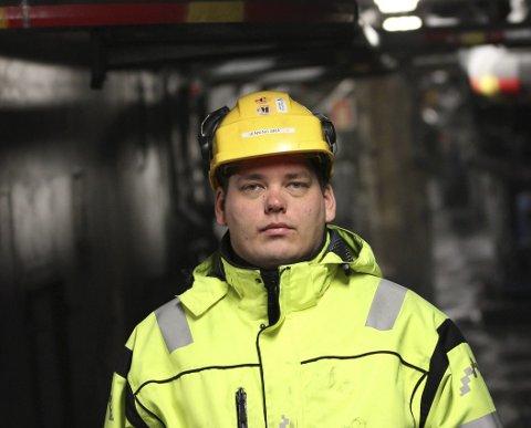 HJEMLENGSEL: Mange gamle gruvefolk ønsker å fortsette i Sydvaranger. Blant dem hovedtillitsvalgt Henning Bråten, som skal skrive en åpen søknad. Arbeidsledigheten i Sør-Varanger steg gradvis fra 1,7 til 5,5 prosent i månedene rundt konkursen. Arkivfoto: Amund Trellevik