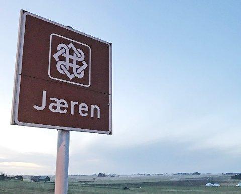 ROADTRIP-MÅL: Nasjonal turistveg Jæren er 41 kilometer lang, og følger Nordsjøvegen (fylkesveg 44/507) fra Bore i nord til Ogna i sør.