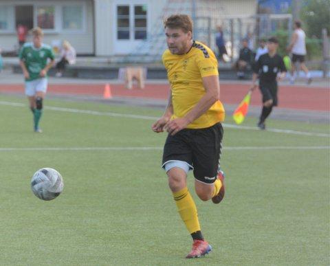Sjette divisjons toppscorer i Telemark, Kragerøs Jonas Monrad Thoresen som så langt står bokført med ti scoringer.