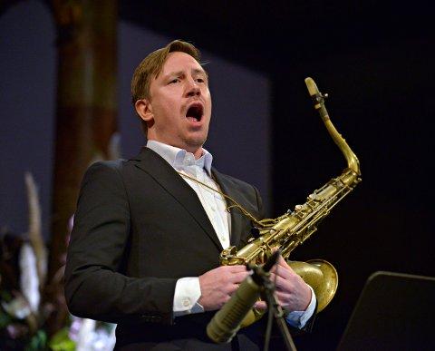 KOMMER TILBAKE: Håkon Kornstad kommer til Kongsberg jazzweekend i november. Han opptrådte også under Glogerfestspillene i januar.