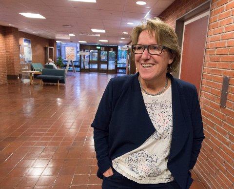 SKAL JOBBE HARDT: Sykehusdirektør Alice Beathe Andersgaard sier mye må skje før 2021, da neste planleggingsfase i sykehussaken kan starte.