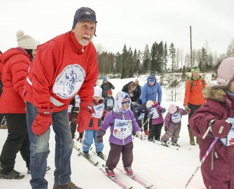 BARNESKIRENN: Petter Northug har gitt seg. Men det blir barneskirenn på Østre Greverud i regi av Skiforeningen Sørmarka også i år.
