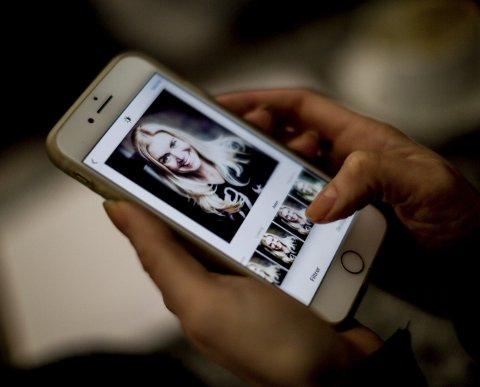 Før du legger ut bildet ditt på Instagram har du flere muligheter til å behandle bildet med ulike filtrer. Test ut og velg det du synes passer best. FOTO: Tom Gustavsen