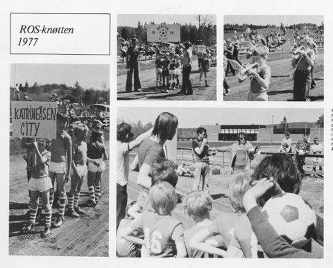 Har du noen slike bilder hjemme?  Da vil ROS-redaktøren høre fra deg. Bildene er fra ROS-knøtten 1977.