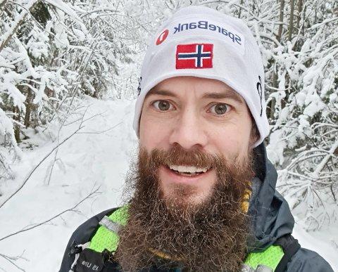SPREK: Vidar Pettersen er en ivrig ølbrygger i tillegg til å løpe flere hundre mil i løpet av et år.