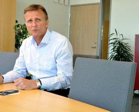 BEKYMRET: NAV-direktør i Telemark, Terje Tønnesen, er bekymret over økningen i fraværet.