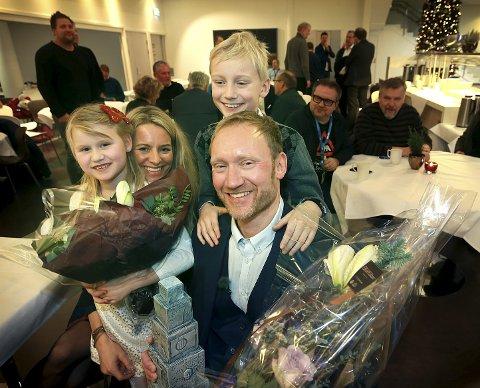 Fjorårets vinner: Sverre Håkon Evju fra Narvik ble kåret til Årets Nordlending i 2015. Foto: Tom Melby