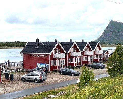 Utleie: Steigen Brygge, som først og fremst driver med utleie av ferieleiligheter/sjøhus, hadde søkt om 100.00 kroner i kompensasjon og fikk 85.000.
