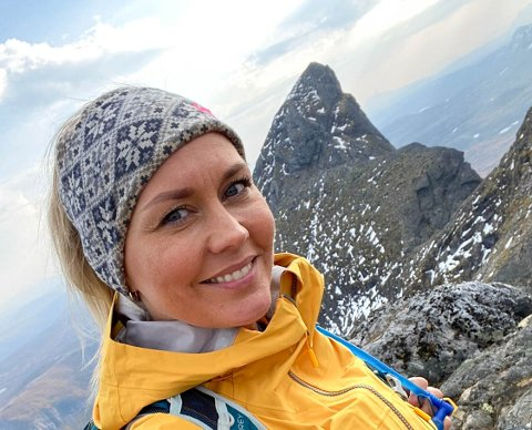 Kine Uttakleiv (40) har blitt en skikkelig fjellgeit, høydeskrekk til tross.