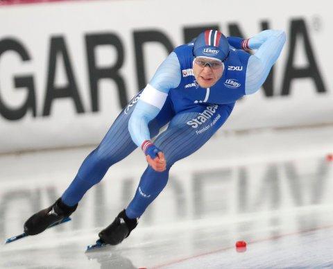 Lorentzen vant sølv på 500 meter i skøyte-VM.
