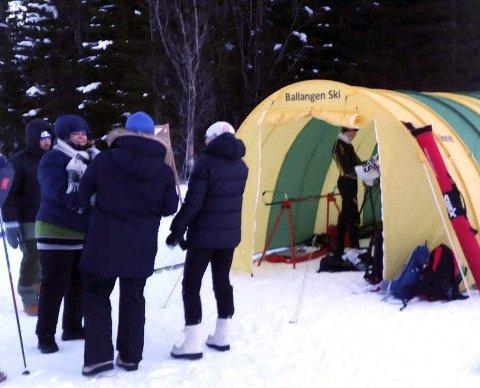 Ballangen skifestival: Ballangen ski klargjør seg til tre dager med renn.