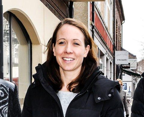 GLEDER SEG: Enhetsleder for Hjemmetjenesten, Kjersti Norheim, ser fram til Horten kommune får sitt eget responssenter for trygghetsalarmer.