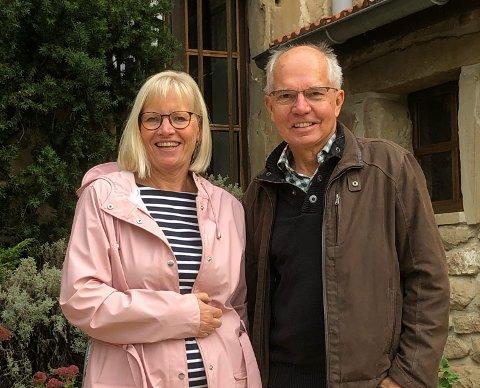 FORTSETTER: Cathrine Bryn har bestemt seg for ikke å gi opp sitt reisebyrå. I disse dager er hun i Frankrike, hvor hun har møte med sin Etiopia-kontakt Nick Crane.  Han har bygget opp og eier Simien Lodge i Simien National Park - som står på UNESCOs liste.