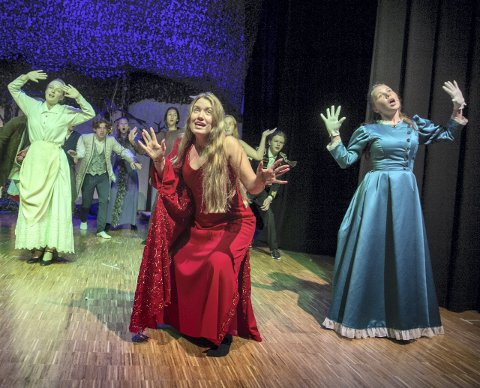 PREMIEREKLAR: Into the woods, med Scenegruppen på Kongsvingers nye kulturarena, KUSK.