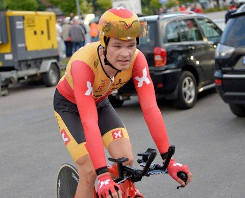 PALLPLASS I BELGIA: Tobias Foss fra Lillehammer ble påskeaften nummer 3 i U23-utgaven av den prestisjetunge belgiske sykkelklassikeren Liège-Bastogne-Liège.