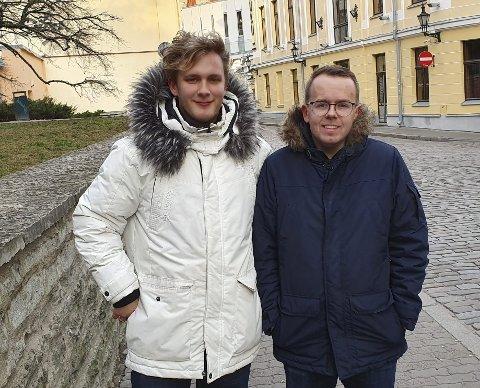 PAR: Colin og Thomas har vært et par siden 2016. Foto: Privat