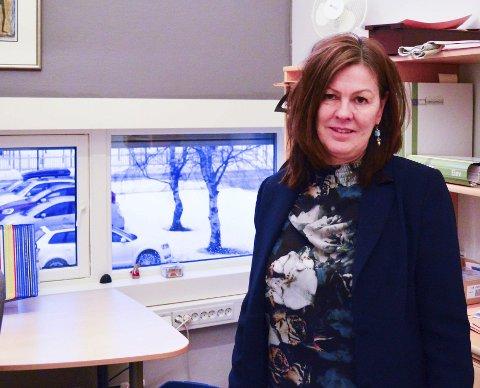 Mimrer: Birgit Strøm, studierektor på Mosjøen videregående skole, deler gjerne sitt koseligste juleminne.