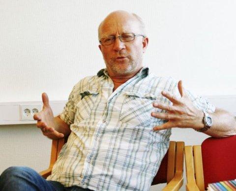 FYSISK UTE: Børre St. Børresen mener at når en ordfører går av, bør han eller hun også fysisk være ute av lokalene i en periode.