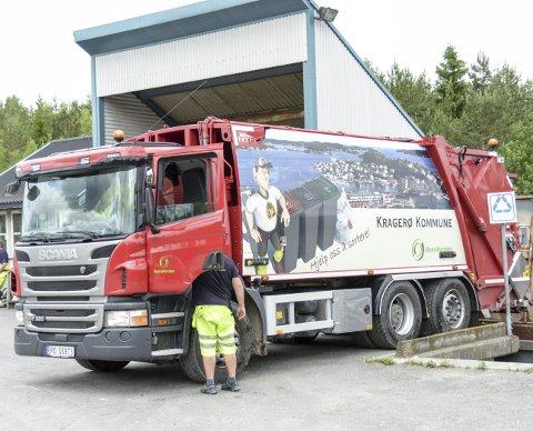 Kragerø kommune overtar seks biler fra avfallsselskapet Reno Norden.