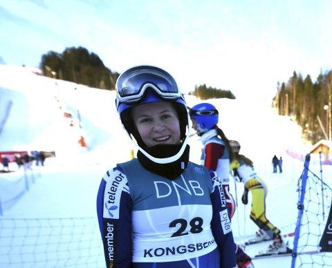 FINALEKLAR: Vilde Haukeli er klar for NM-finalen i parallellslalåm i Kollen torsdag.