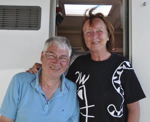 DAGENS NAVN: Ulrike og Hans- Peter Haber. Bobilturiste på overnatting i Moss. Fra St. Martin, Tyskland