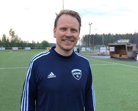 Frode Nøss blir ny teamleder i Råde IL