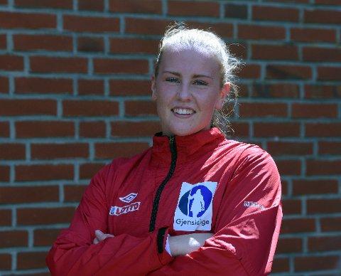KLAR FOR VM: Kristin Halvorsen er endelig med for fullt i et mesterskap med juniorlandslaget etter at sykdom nesten tvang henne til å legge opp. Alle Foto: Solfrid Therese Nordbakk