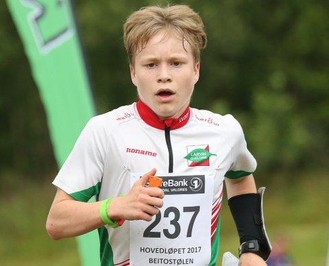 STADIG BEDRE: Iver Ringheim er blitt dyktig på såvel skog- som sprintorientering.