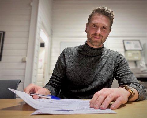 TO ÅR: Elverum Fotball sikret seg en meget viktig spiller da Magnus Solum (28) signerte en toårskontrakt mandag ettermiddag.