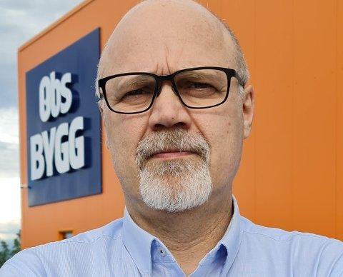 Ulf Haugen er ansatt som eiendomsdirektør i Coop Midt-Norge.
