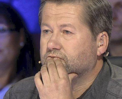 Beveget: Jurymedlem i «Norske talenter» lot det flomme over da han hørte Magne Larsen første gang.Foto: TV 2