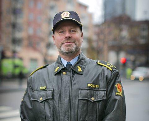 POLITIMANN: Bård Stensli har kjempet en kamp for å gjøre det lettere å være homofil i politiet. foto: iffit Qureshi