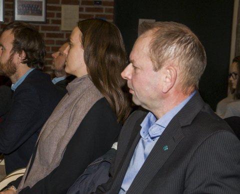 SÅ FARESIGNAL: Venstres Glenn Glenn Bjerke fikk kommunestyret til å sette på håndbrekket for vindkraftavtale med utbyggerne.