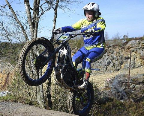 VANT: Hjemmehåpet Ingeborg Lindberg Bergersen (14) vant suverent i kvinner junior i norgescupløpene.