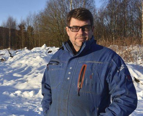 Trenger tomt: Tom Sigsgaard i Kristoffersen & Sigsgaard Bygg Entreprenør AS ønsker å etablere seg på Grunnane.