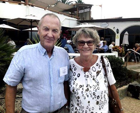 GRAN CANARIA: Ranveig og Torbjørn Brøske har fra oktober jobbet i sjømannskirka i Arguineguín. De vil gjerne bidra til å nyansere bildet av nordmenn som er på Gran Canaria.