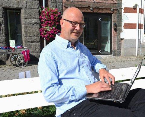 SØLV: Geir Hogstad er mannen bak ProCloud AS som nylig har fått sølv-sertifisering hos Microsoft.