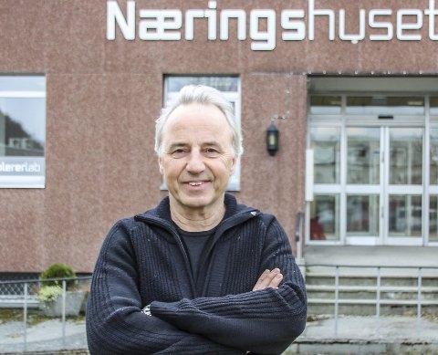 Ønsker svar: Per Helge Malvik i Suns håper så mange virksomheter som mulig tar seg tid til å svare på undersøkelsen tirsdag,