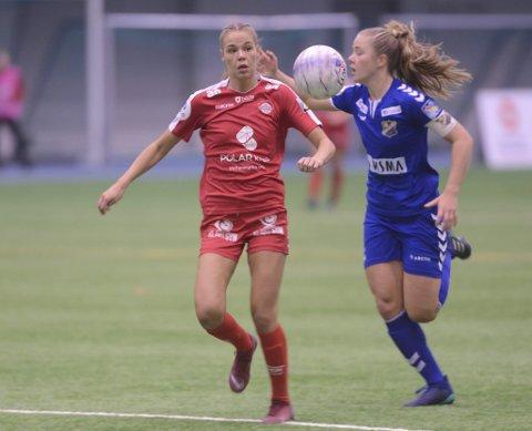 Tapt: Vilde Fjelldal forlater Grand og skal spille for Røa kommende sesong. Foto: Stian Høgland