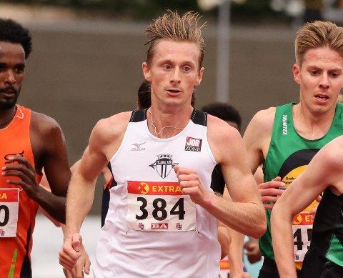 PÅMELDT: Toppløperen Ferdinand Kvan Edman fra Drammen er en av løperne du kan se i Hytteplanmila lørdag.