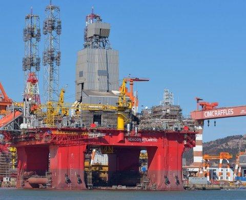 SKAL BORE: «Beacon Atlantic» skal driftast av Odfjell Drilling i boreperioden rundt Gjøa.
