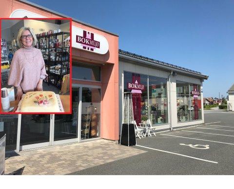 TORP: Vigdis Andersen og bokhandelen Bokmiljø ble tatt godt imot av lokalmiljøet.