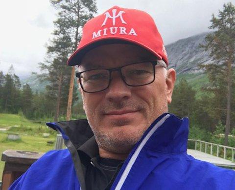 NY DAGLIG LEDER: Svenn Kellner (49) er ny daglig leder i Narvik golfklubb.
