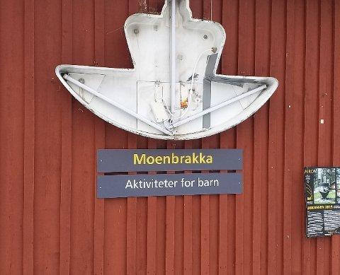 STJÅLET: Her mangler det et Statens vegvesen-skilt.