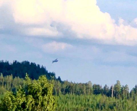 Store fly har passert over Lillehammer de siste ukene. Også de neste dagene vil det være mulig at vi får besøk av Special Operation Wing (Skjermdump)