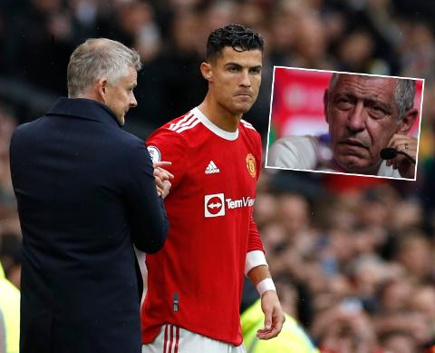 KRITISK: Portugals landslagssjef mener Cristiano Ronaldo trenger å starte jevnlig for å holde kampformen ved like.