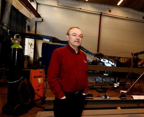 Bjørn Lonbakken er daglig leder for Lonbakken Mekaniske Verksted, og også styreleder i Gudbrandsdal Industrinettverk.