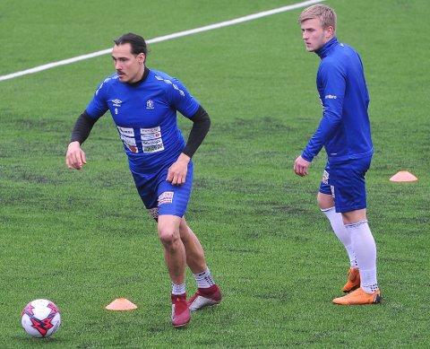 TOPPSCORER: Fabrizio Cardaccio Tambucho scoret sitt 12. mål for sesongen da Nybergsund slo Steinkjer 3-1 på bortebane lørdag.