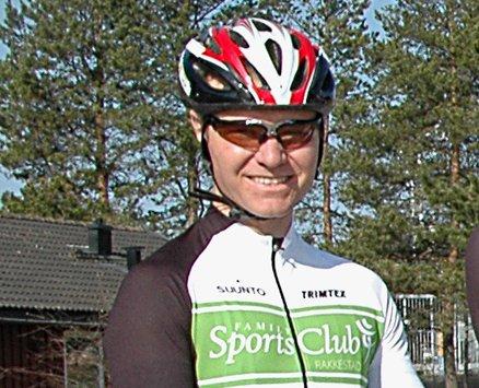 KAN SMILE: Sven Ingar Thue kan smile med god grunn. Han leverte en fin innsats i landveisrittet Femsjøen Rundt. ARKIVFOTO: JO ERIK ASKERØI